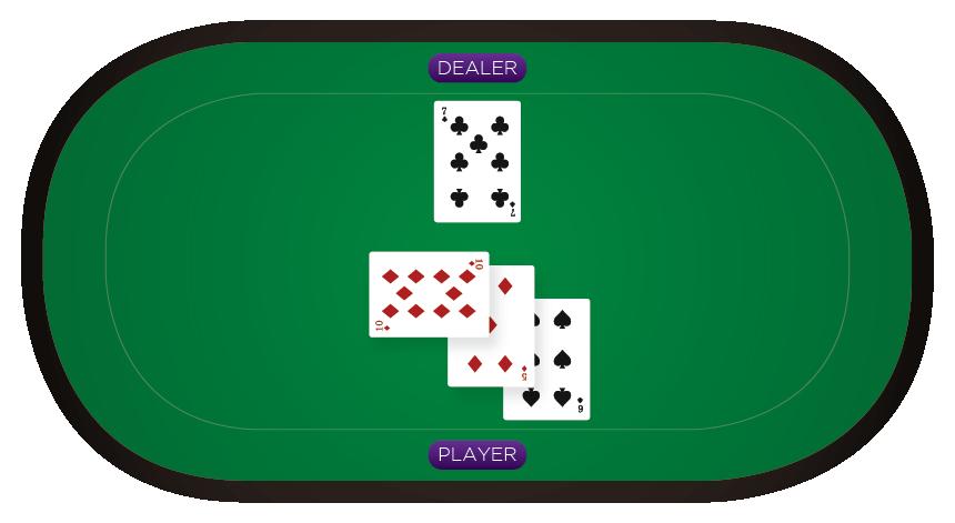 Blackjack - Doubling down