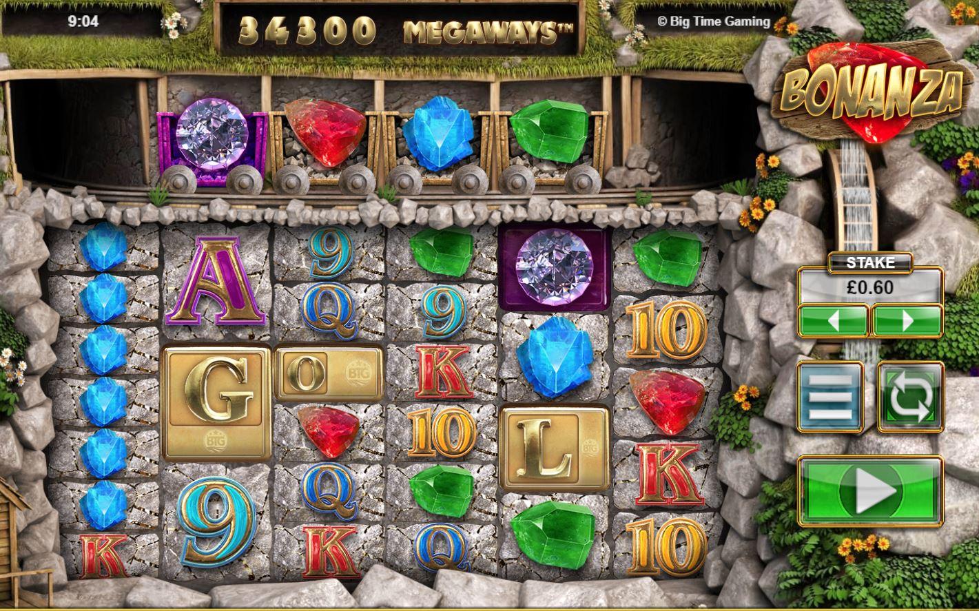 Bonanza online slot game