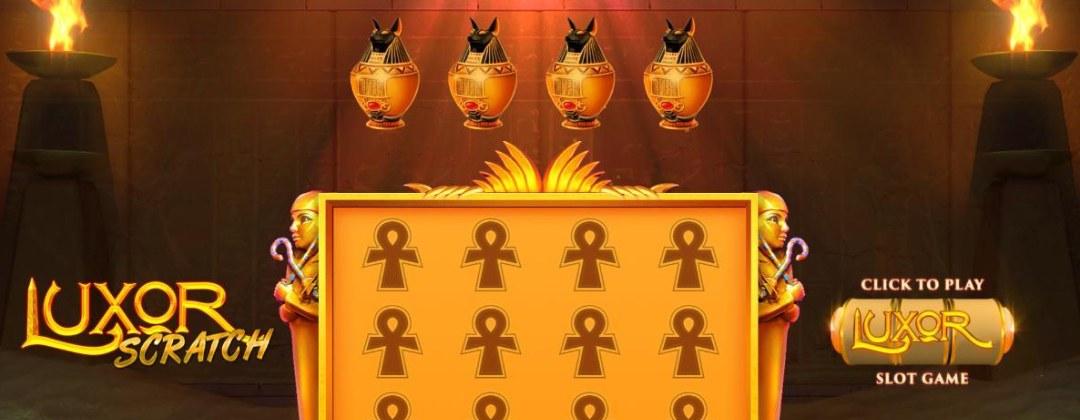 A screenshot of the Luxor Scratch demo.